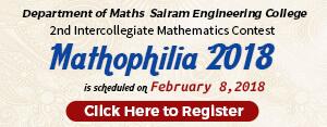 sairam-maths-event