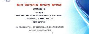 sairam-engineering-college-csi-award-certificate-2017